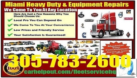 agricultural machinery mechanic Miami | Car Review Video and Service | Scoop.it