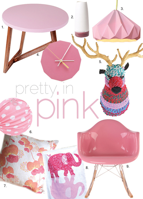 Cushion Spot: PRETTY IN PINK | Interior Design | Scoop.it