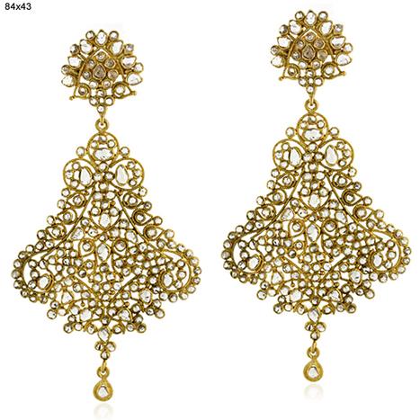 Diamond Gold Earrings | Wholesale Jewelry | GemcoDesigns | Pave Diamond Bangle | Diamond Jewelry | GemcoDesigns | Scoop.it
