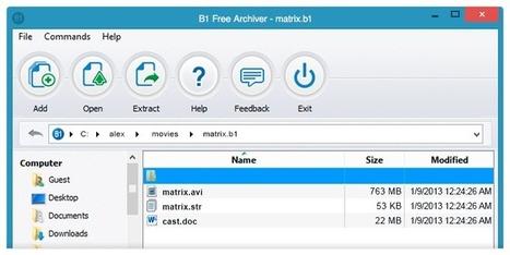 B1 Free Archiver - Comprimir y descomprimir archivos | Pedalogica: educación y TIC | Scoop.it