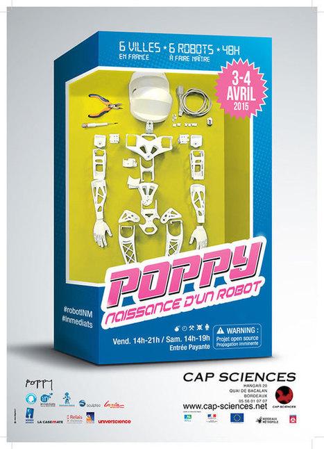 Participez à l'assemblage de Poppy : le robot open source de l'Inria | Mobile technology & Digital business | Scoop.it