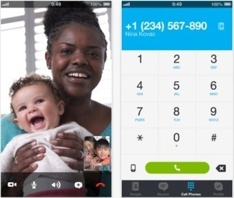 Skype for iPhone and iPad updated with improved calling interface ... | Super iphone and technology | Scoop.it
