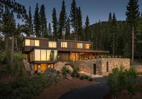 Panorama phénoménal pour maison bois contemporaine en Californie | Construire Tendance | Scoop.it