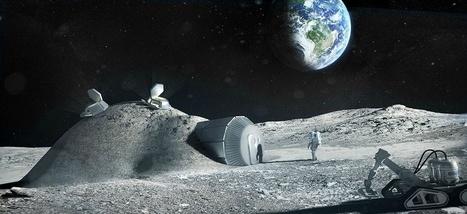 Un village lunaire, l'étonnante proposition du nouveau directeur de l'Agence spatiale européenne | Dans l'actu | Doc' ESTP | Scoop.it