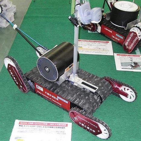 Le Japon développe un nouveau robot pour explorer le site nucléaire de Fukushima | UberGizmo | Japon : séisme, tsunami & conséquences | Scoop.it