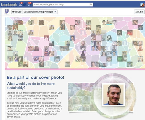 Unilever Makes Its Facebook Cover Photo Interactive to Encourage Users to Live Sustainably | Creative Feeds | Scoop.it
