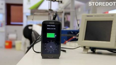Charge your phone in 30 seconds? A new start-up says it can | It's Show Prep for Radio | Scoop.it