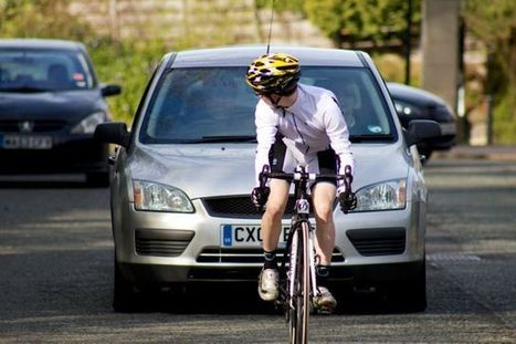 Cyclists! Why do they ride in the middle of the road? | Safety Message | Scoop.it