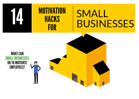 14 Motivation Hacks for Small Businesses - 123Print UK Blog | Business | Scoop.it