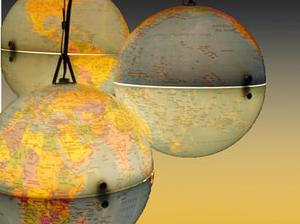 Réaliser des #Lustre avec des #globes terrestre #tuto #diy #conseils #déco | Best of coin des bricoleurs | Scoop.it