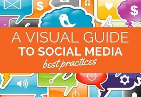 A Visual Guide to Social Media Best Practices | Communication digitale & more... | Scoop.it