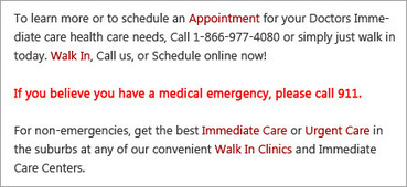 Primary Care Clinic in Naperville, Lisle, Lombard, Elmhurst, Morton Grove, Skokie, Des Plaines | Immediate Care Naperville | Scoop.it