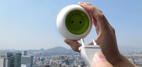 Un chargeur solaire à ventouse qui se fixe sur vos vitres : Window Socket | Immobilier | Scoop.it
