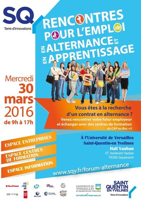 Apprenez en plus sur l'apprentissage ! 30 mars 2016 | Actu de l'emploi et du monde de l'entreprise à Saint-Quentin-en-Yvelines et ses environs par InfodocSQY | Scoop.it