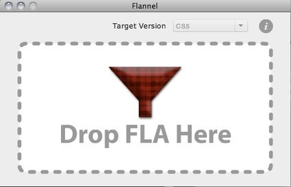 Flannel: Open Newer FLA Files | Ajar Productions | Everything about Flash | Scoop.it