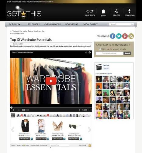 How 'GetThis' is allowing you to discover, share and shop while you watch TV - Lost Remote | Second Screen Strategies | Scoop.it