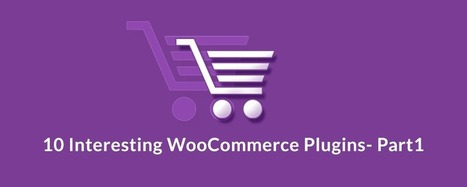 10 Interesting WooCommerce Plugins- Part1 | Wordpress | Scoop.it