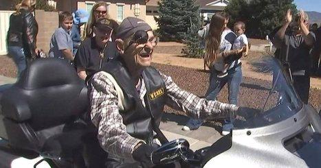 101-Year-Old Veteran Gets One Last Ride on a Harley | Harley Rider News | Scoop.it
