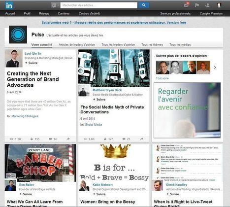 Utiliser Pulse sur LinkedIn : flux d'actualité | le web de demain? | Scoop.it
