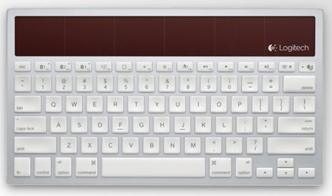Apple-Like Solar-Powered Keyboard Controls Mac, iPad, iPhone | mrpbps iDevices | Scoop.it