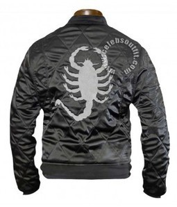 Celebs Outfit offer $ 120 only Drive Scorpion Black Jacket. | Celebsoutfit | Scoop.it
