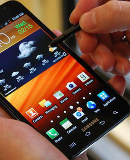 SAMSUNG 'MEGA' NEARLY TABLET SIZED | MOBILES 2 PAPERTABS eDIGEST | Scoop.it