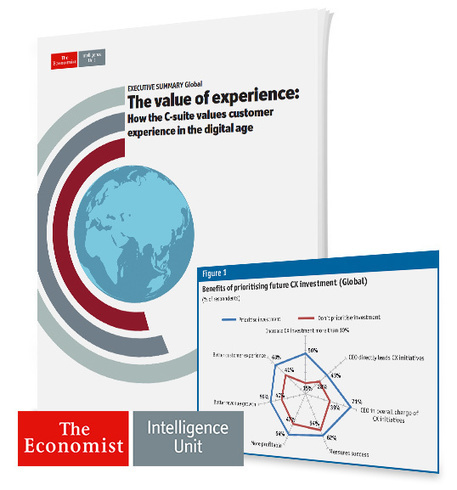 Economist Intelligence Unit Report on The Value of Customer Experience | Designing  services | Scoop.it