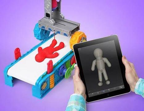 Play-Doh 3D Printer – L'imprimante 3D pour les enfants ! | Ufunk.net | 3Dprinting | Scoop.it