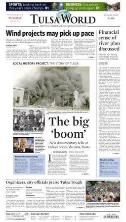 Documentary 'Boomtown' tells of Tulsa's hopes, dreams, booms and busts | Southmoore AP United States History | Scoop.it
