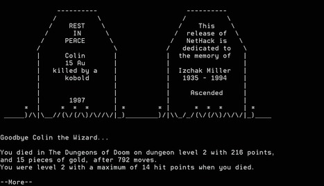 OS/2 e-Zine! - Nethack for OS/2 v3.2.2 | ASCII Art | Scoop.it