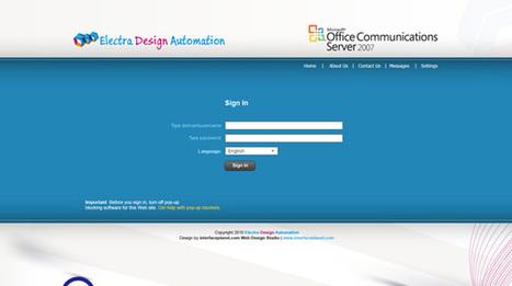 Custom OCS 2007 Web Access Interface, Customize OCS 2007 | Interface Customization Services | Scoop.it