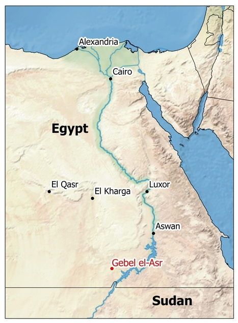 Gebel el-Asr quarries: Discovery and excavation | Egyptology and Archaeology | Scoop.it