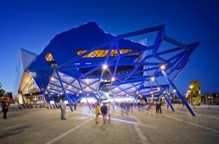 Perth Arena / ARM Architecture + CCN | ArchDaily | Structural design | Scoop.it
