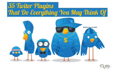 35 Twitter Plugins That Do Everything You May Think Of - BloggerJet | Beyond Social Medias | Scoop.it