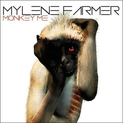 PHOTO Mylène Farmer transformée en singe pour Monkey Me - Actustar.com | T'as la bannanne couzain ! | Scoop.it