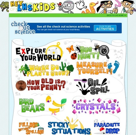 Learning Never Stops: 50 websites that help make learning science fun | Technology for Children - Tecnología para niños | Scoop.it