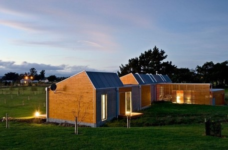 Rural Peacefulness: Sustainable Cornege-Preston House in New Zealand | sustainable architecture | Scoop.it