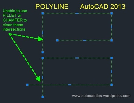 AutoCAD 2014 Self Intersecting Polylines | Top CAD Experts updates | Scoop.it