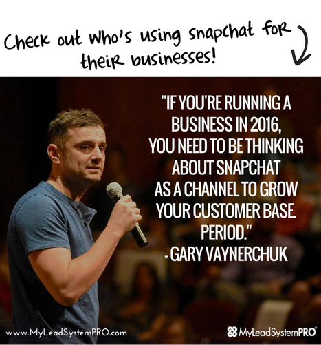 Snapchat Secrets for Business Owners | The Twinkie Awards | Scoop.it