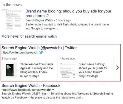 Exploring the correlation between social media and search rankings | Social Media Marketing | Scoop.it