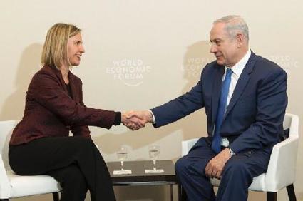 Moyen orient : entretiens Mogherini-Netanyahu à Davos - ENPI Info | Dessine-moi la Méditerranée ! | Scoop.it