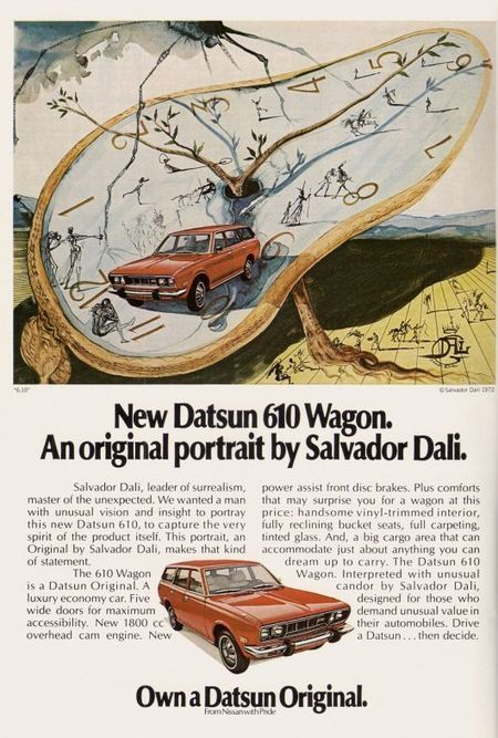 Return of Datsun Original: Dali's Datsun #branding | Corporate Identity | Scoop.it