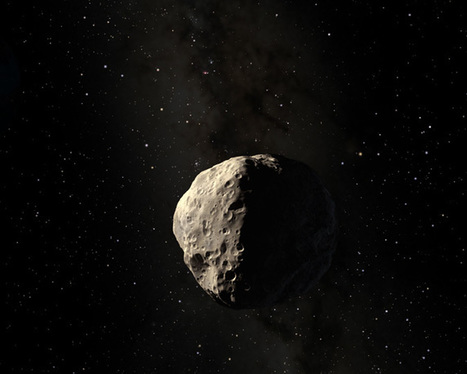 "Asteroid's ""Hard Drive"" --Clue to Fate of Earth's Core Billions of Years from Now 