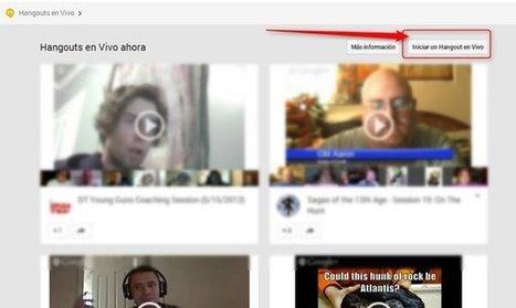 Cómo crear, organizar y participar de un hangout, paso a paso, desde el nuevo Google+ | Educación 2.0 | Scoop.it