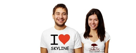 Custom Designed T Shirts For All Occasions & Events | Skylineshirts | Scoop.it