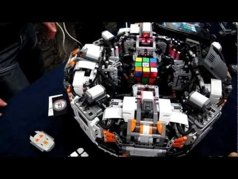 Un robot résout un Rubik's Cube en 5 secondes ! | Robolution Capital | Scoop.it