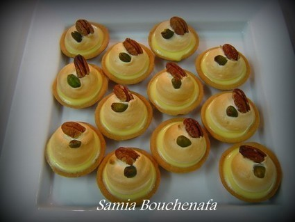 Mini tartelettes citron meringuée | gateau algerien 2015 | Scoop.it