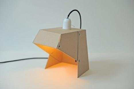 Hazlo tú mismo: una lámpara de cartón | lámparas | Scoop.it