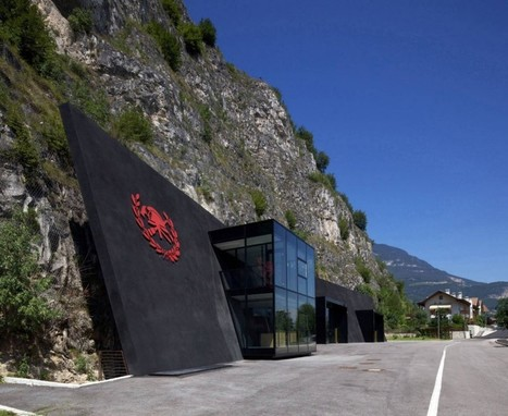 Extreme Fire Station Built in a Cave in Margreid, Italy by Berg Meister Wolf | Design | News, E-learning, Architecture of the future at news.arcilook.com | Architecture e-learning | Scoop.it