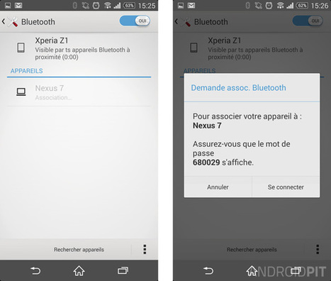 Comment envoyer des applications par Bluetooth sur Android - AndroidPIT | Enseigner avec Android | Scoop.it